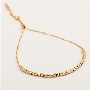 GORJANA 18k Gold Plated Laguna Adjustable Bracelet